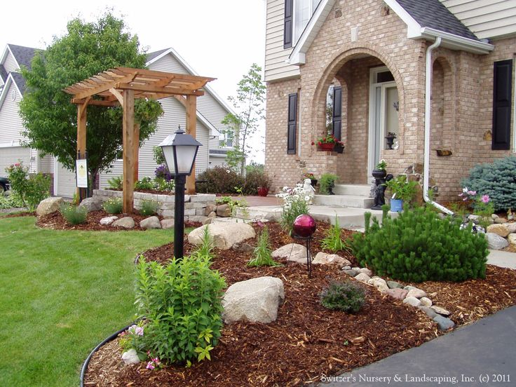 Best 25 Front entry landscaping ideas that you will like on