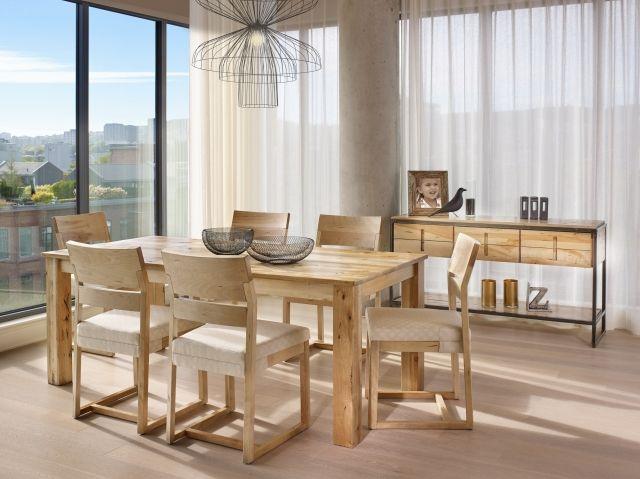 Ensemble de salle à manger - Canadel - 100% Québécois - http://www.maisonethier.com/fr/produit/905756/Ensemble-de-salle-%C3%A0-manger-Canadel/#.V1lwhtThDxs