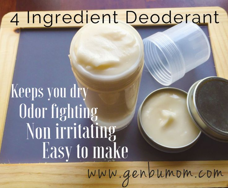 Natural Deodorant & Antiperspirant {That Works}