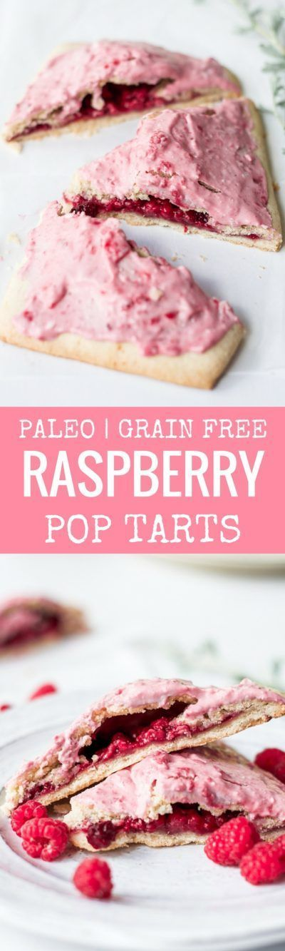 Easy to make paleo raspberry pop tarts are so full of flavor, naturally sweetened, and grain free.