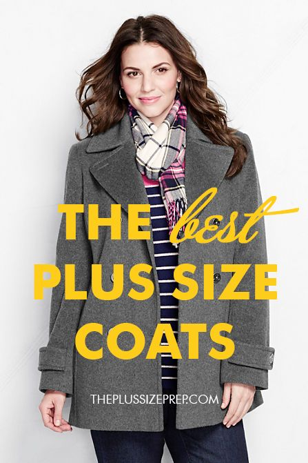 A guide to the best plus size coats on any budget! // as seen on the plus size prep'd //