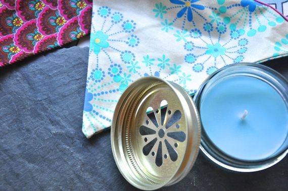 Homemade Soy Candle for Your Baby Shower by HomemadeNation on Etsy