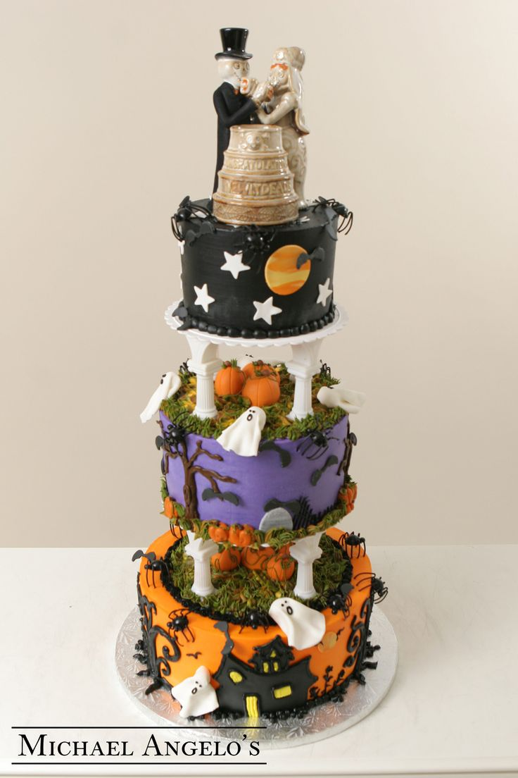 halloween wedding cake toppers 17 best images about fall cakes on 4674
