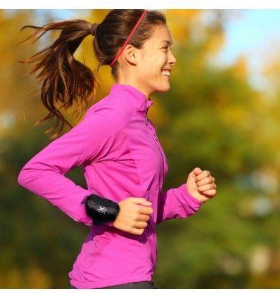L'ultime nouveauté en matière d'accessoires de sportest arrivée : le pratiquebracelet éponge avec poche pour sportifs ! Parfait pour conserver les objets de petite taille. Une petite poche...