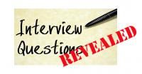 Interview Guide - top questions and what the interviewer is really trying to uncover