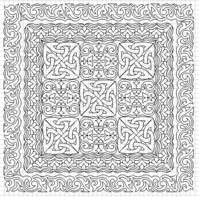 17 Ideas About Celtic Quilt On Pinterest Patchwork