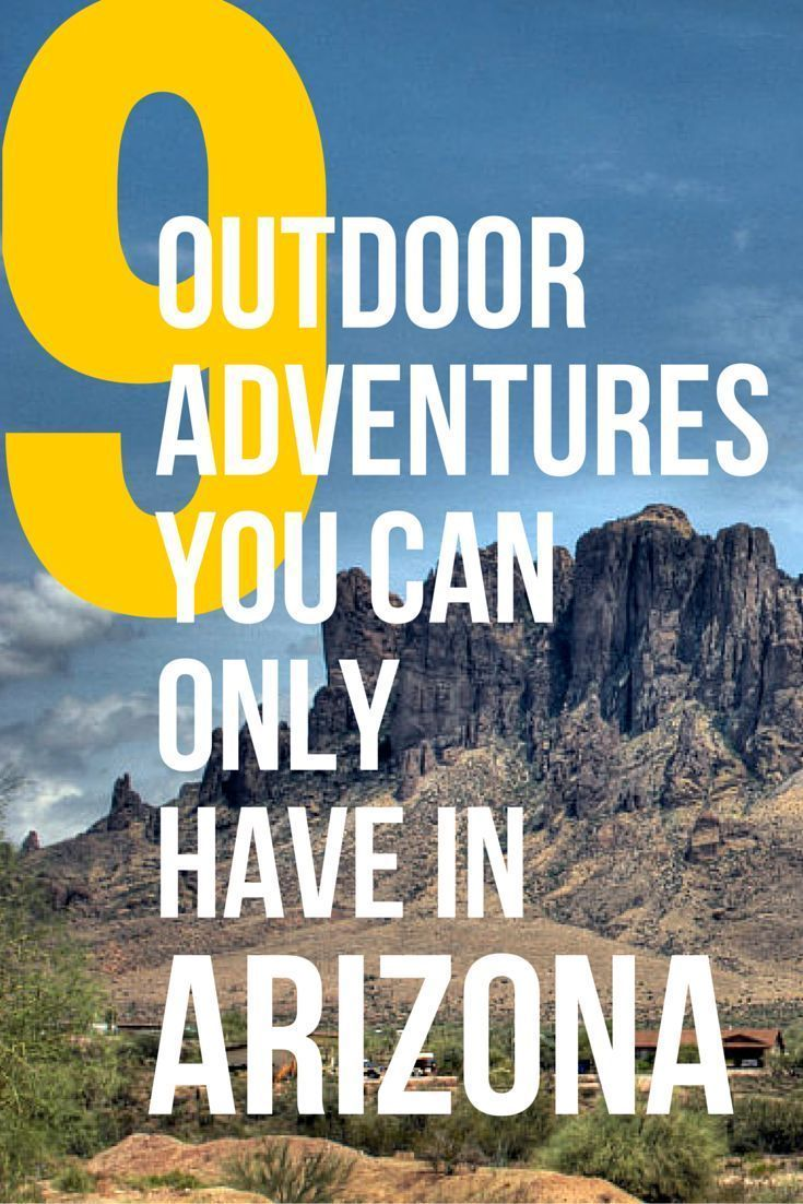 AMERICAN ADVENTURERS, take note: Whatever you're into, you can get into it in Arizona. The breadth of adventure options available in this Southwestern state make other parts of the country envious. Check out this list to find your next mission. #VisitArizona #LetYourselfGo