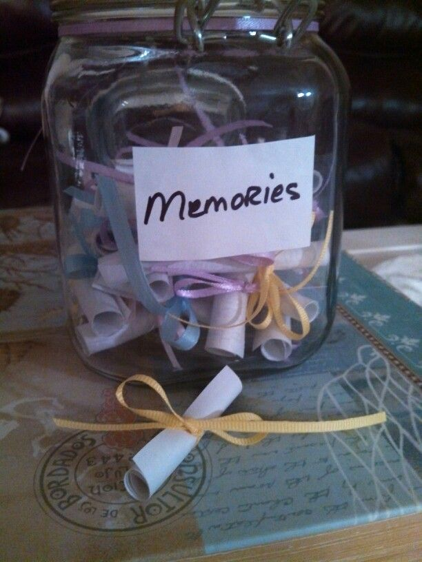 Memory Jar 40th Birthday Present Favorite Memories From