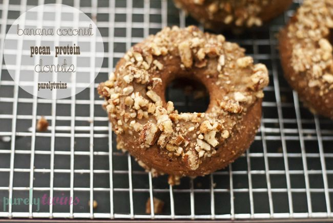 Coconut Flour and Banana Donuts