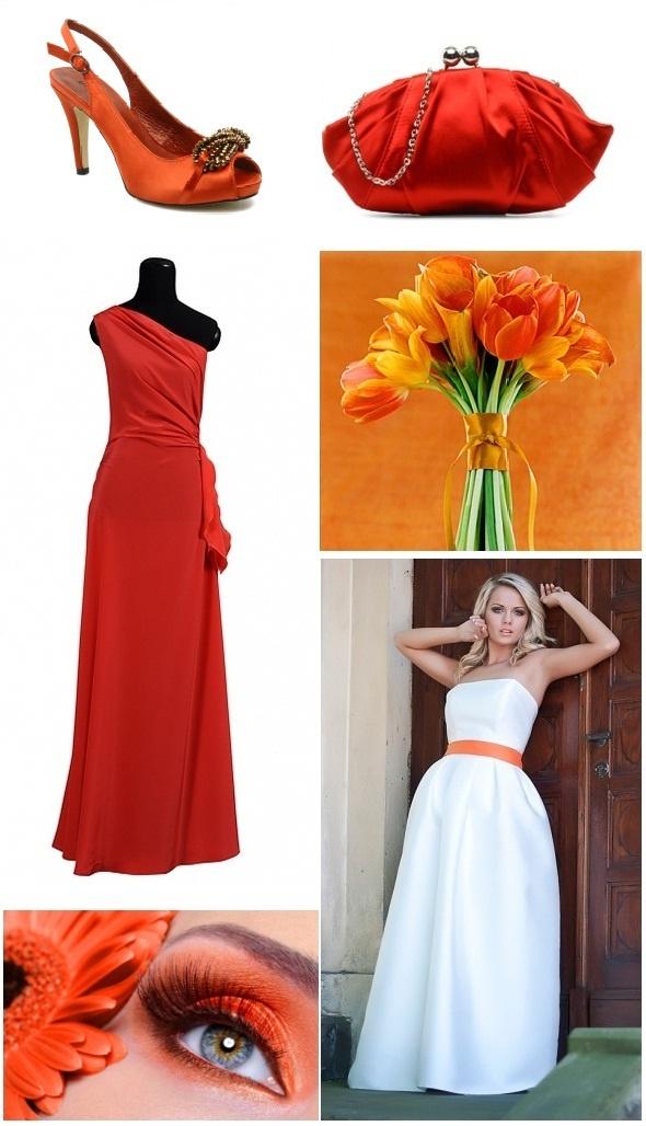 Paleta barw: pomarańcz