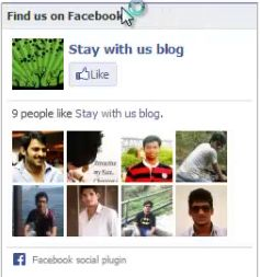 How to add facebook Like Box to Blogger from http://staywithusblog.blogspot.in/