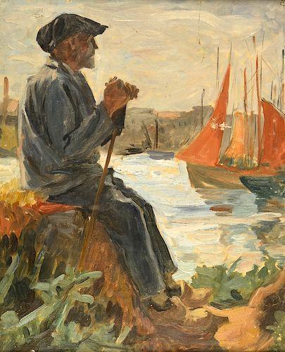 Constantin Petrescu Dragoe - Breton în Port