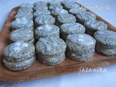 Makové koláčiky s citrónovým krémom (fotorecept) - Recept