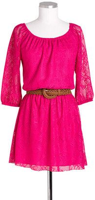 ShopStyle: Delia'sAllover Long-Sleeve Lace Dress