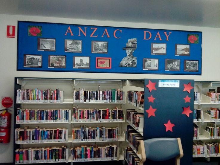ANZAC DAY - Ermington Library, 2014.