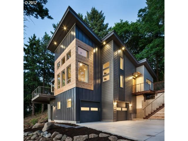 This Trendy Industrial Retreat Designed By Jordan Iverson Signature Homes  Is Located Amongst The Timber On The Prime Of A Hilltop In Eugene, Oregon.