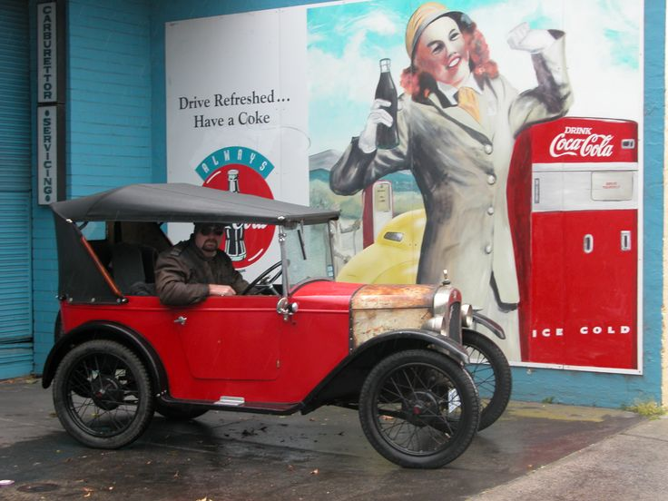 1928 Austin 7 chummy. I owned this car for 8 years.