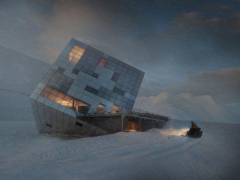 the Kemarsk Hut, Vysoké Tatry, 2014 - Atelier 8000