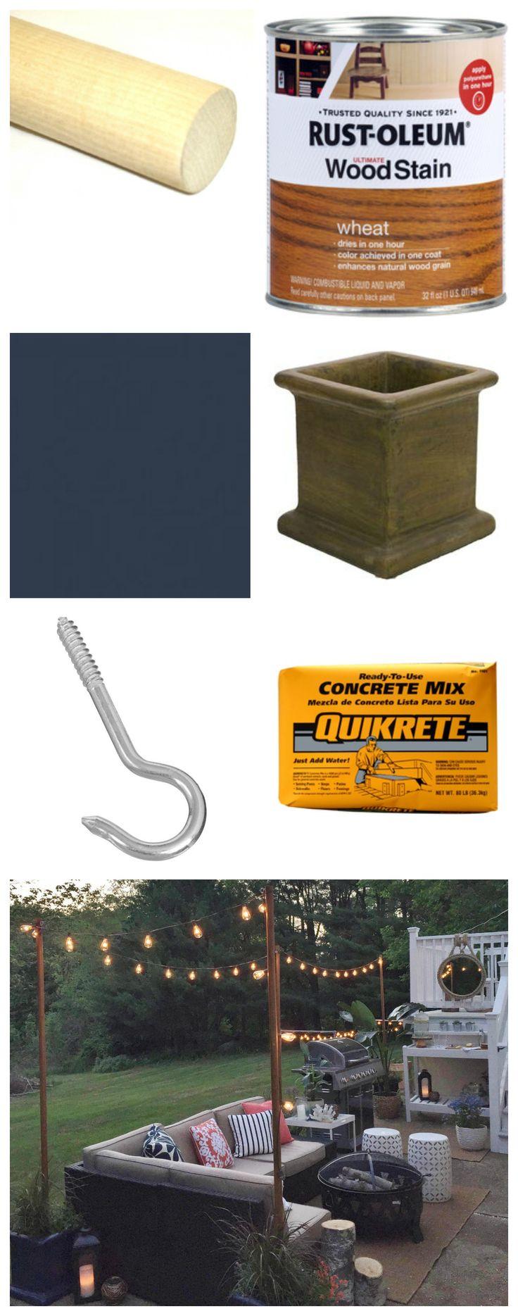 DIY Outdoor Lighting-What you need