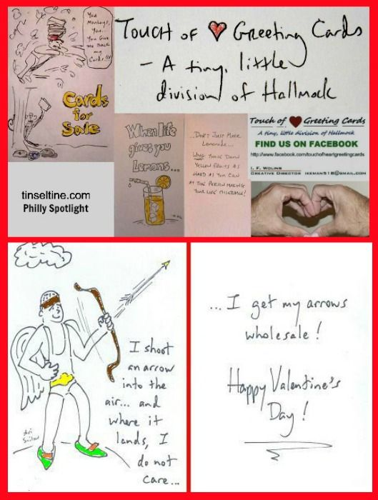 Check out these offbeat handmade Valentine's Day cards by Touch of <3 Greeting Cards!