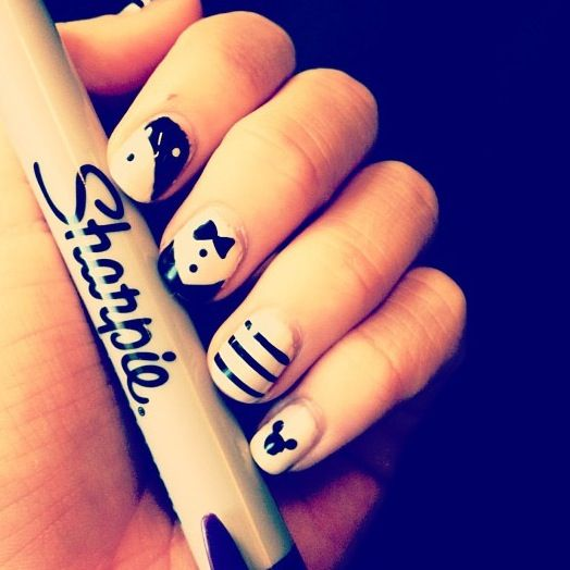 Sharpie Nails