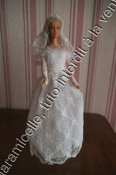 1000 id es sur le th me patron robe de mari e sur - Robe barbie adulte ...