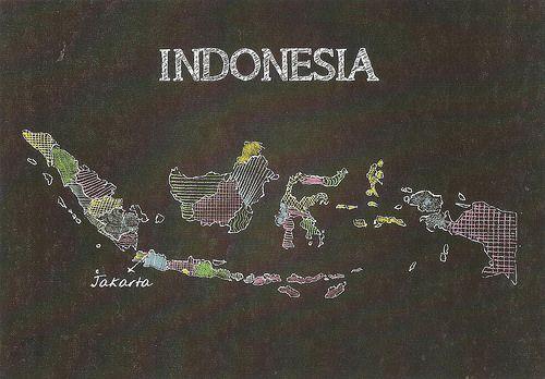Peta Indonesia yang keren :D