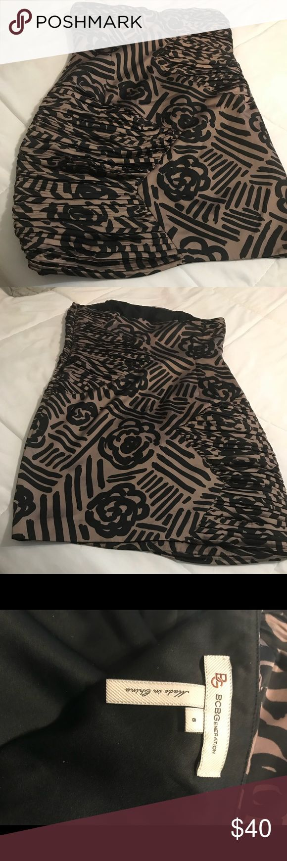 BCBGeneration Dress Nice party dress that will fit like a glove hiding our love handles! BCBGeneration Dresses Mini