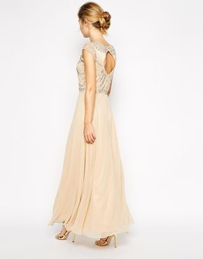 Enlarge Frock and Frill Embellished Top Maxi Dress with Thigh Split http://www.asos.com/Frock-and-Frill/Frock-and-Frill-Embellished-Top-Maxi-Dress-with-Thigh-Split/Prod/pgeproduct.aspx?iid=4764756&cid=13934&Rf981=3680,3679,3677&sh=0&pge=1&pgesize=36&sort=-1&clr=Palenudesilver&totalstyles=236&gridsize=3