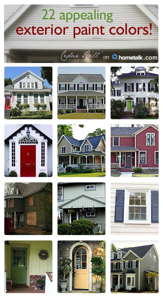 Exterior house paint colors anita cedar hill - Beautiful exterior house paint colors ...