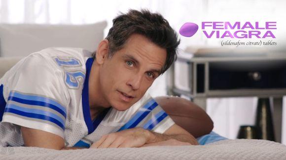 Ben Stiller's fake female Viagra commercial is brutally...: Ben Stiller's fake female Viagra commercial is brutally hilarious… #BenStiller