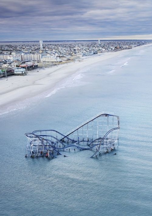 Seaside Heights by Stephen Wilkes