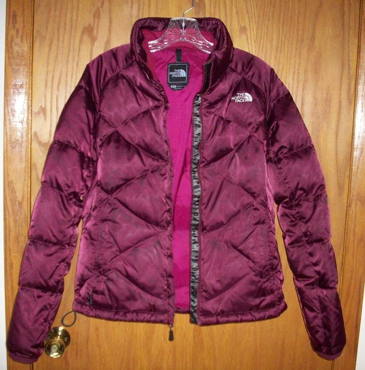 The North Face Womens Medium M Aconcagua 550 Down Jacket Coat Quilted Puffer  #TheNorthFace #Puffer