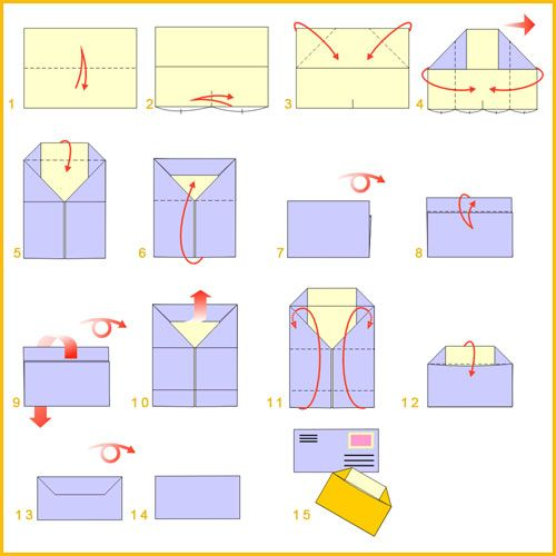 Top 25 Ideas About Origami Envelopes Amp Letter Folding On