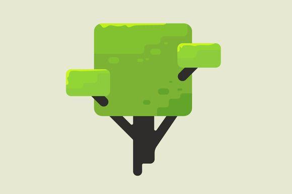 Abstract illustration of a tree ~ Illustrations on Creative Market
