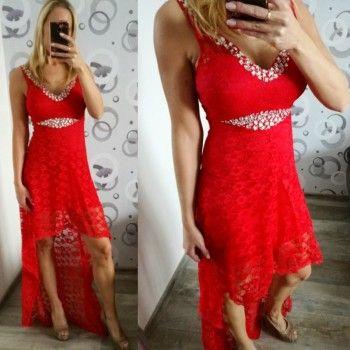 Dámské plesové šaty Julie červené