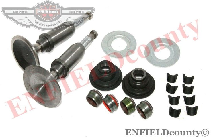 CYLINDER ENGINE HEAD VALVE COMPLETE KIT ROYAL ENFIELD 500cc MOTORCYCLE
