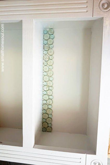 See How She Makes Her Bathroom Look Stunning With Dollar Store Marbles