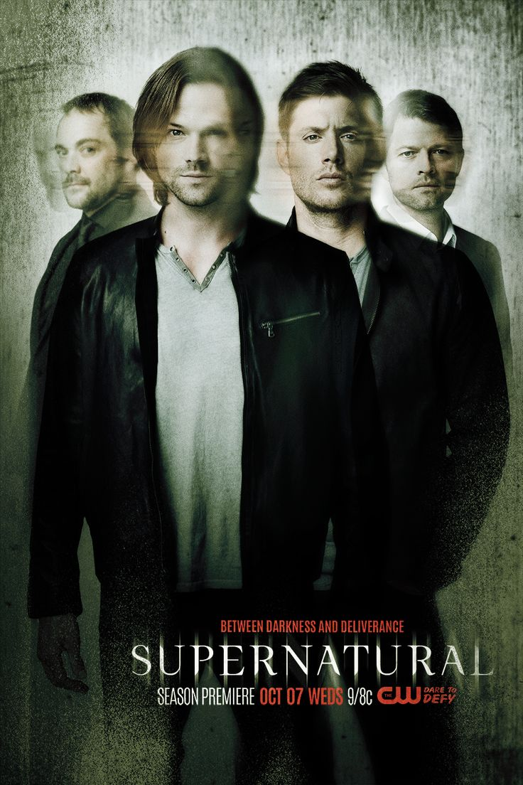 The boys are caught between darkness and deliverance. #Supernatural season 11 premieres Wednesday, October 7!