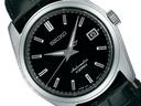 SEIKO mechanical self-winding watch standard series men watch black leather belt SARB071