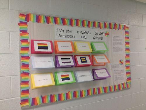 Gay bulletin board