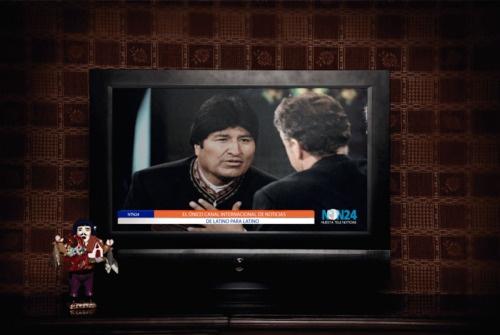 """Copy: """"NTN24 el único canal internacional de noticias de latino para latino"""".  Cliente:NTN24  Medio:Print  Referencia: Ekeko"""