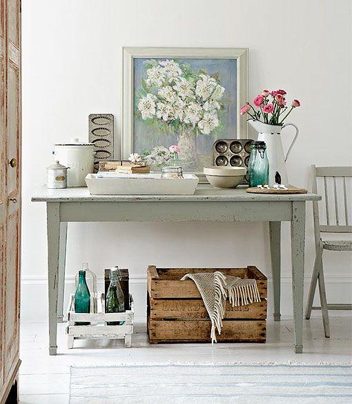 Nueva vida a los objetos: toque vintage | Decorar tu casa es facilisimo.com