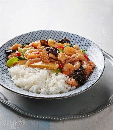 중식잡탕밥