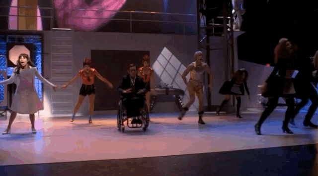"""Chord Overstreet: """"Time Warp"""" in """"The Rocky Horror Glee Show"""" (Season 2, Episode 5) 