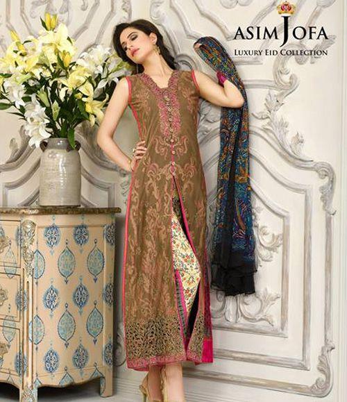 Asim Jofa Luxury Lawn Eid Collection 2015 AJL_3B