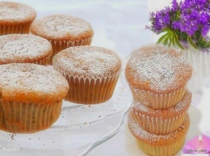 Gosia gotuje: Muffinki z mirindą