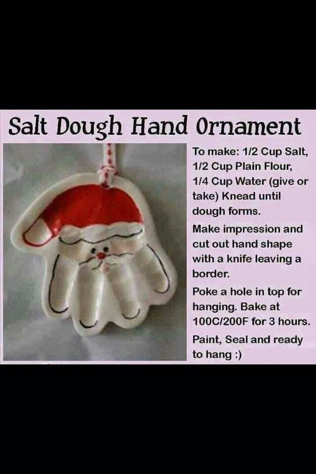 I loved salt dough as a kid!
