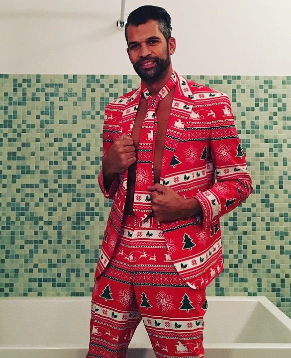 Ready for #christmas suit by #opposuits #manor