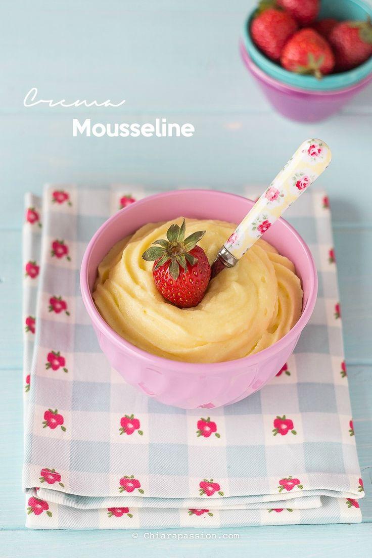 Crema Mousseline Alla Vaniglia | Chiarapassion